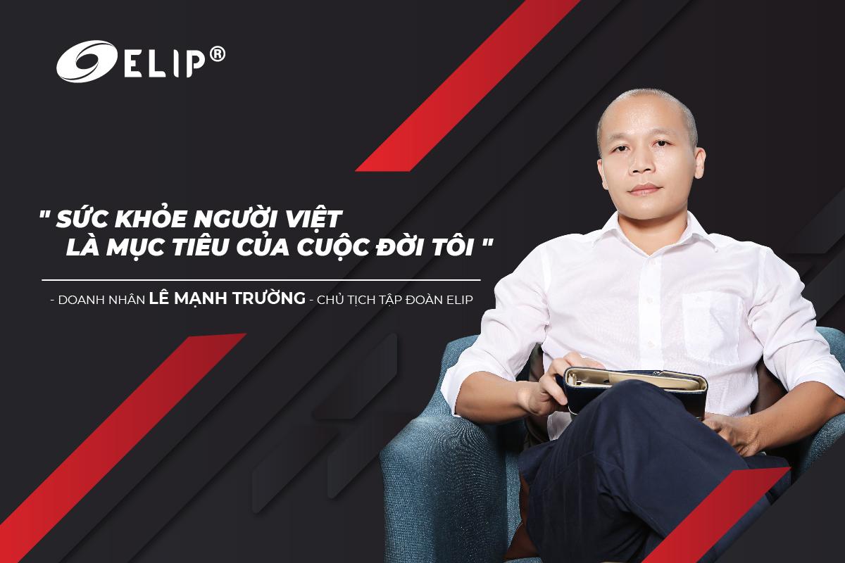 Ông Lê Mạnh Trường - Chủ tịch Tập đoàn Elipsport